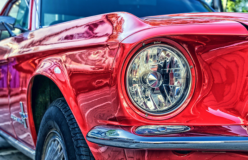 Shiny finish - Image by Peter H from Pixabay